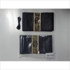 Оплетка руля кожа,с черной ниткой,гладкий L(39-40cм)