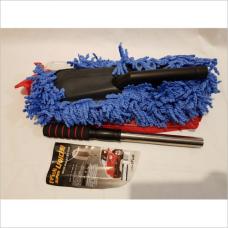 Щетка для уборки синяя