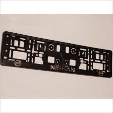 Рамка номера Nissan 2шт